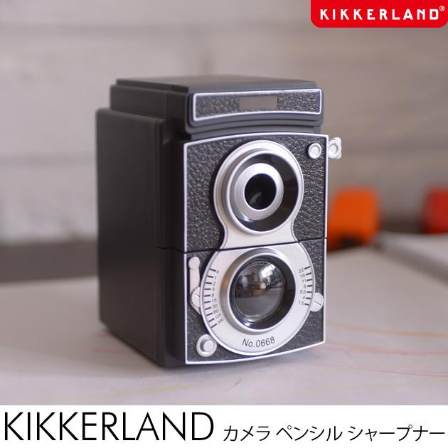 鉛筆削り おしゃれ カメラ型 kikkerland