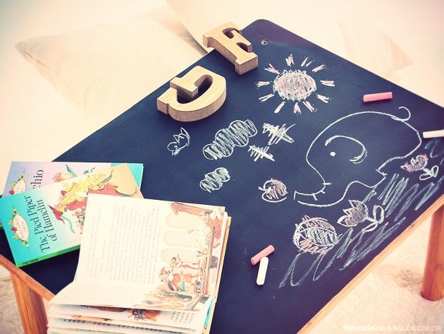 黒板,お絵かき,テーブル,デコレーション