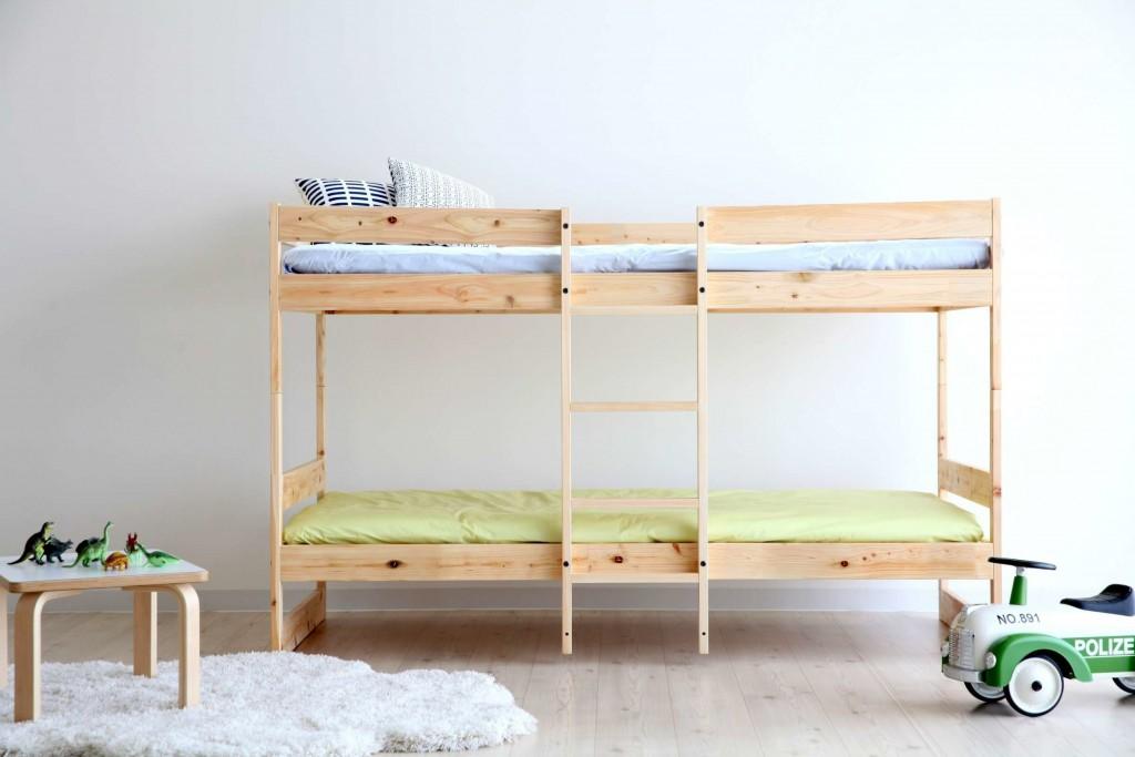 二段ベッド,すのこベッド,シンプル,おしゃれ