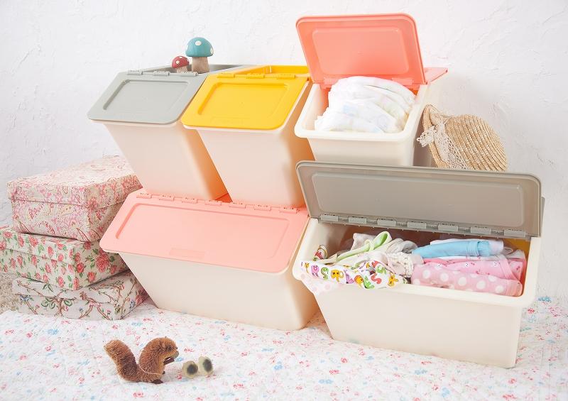 ペリカン,ワイド,収納ボックス,おもちゃ箱,衣類収納,おむつ