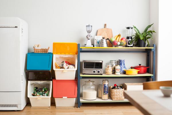 キッチン ゴミ箱 ペリカン ガービー