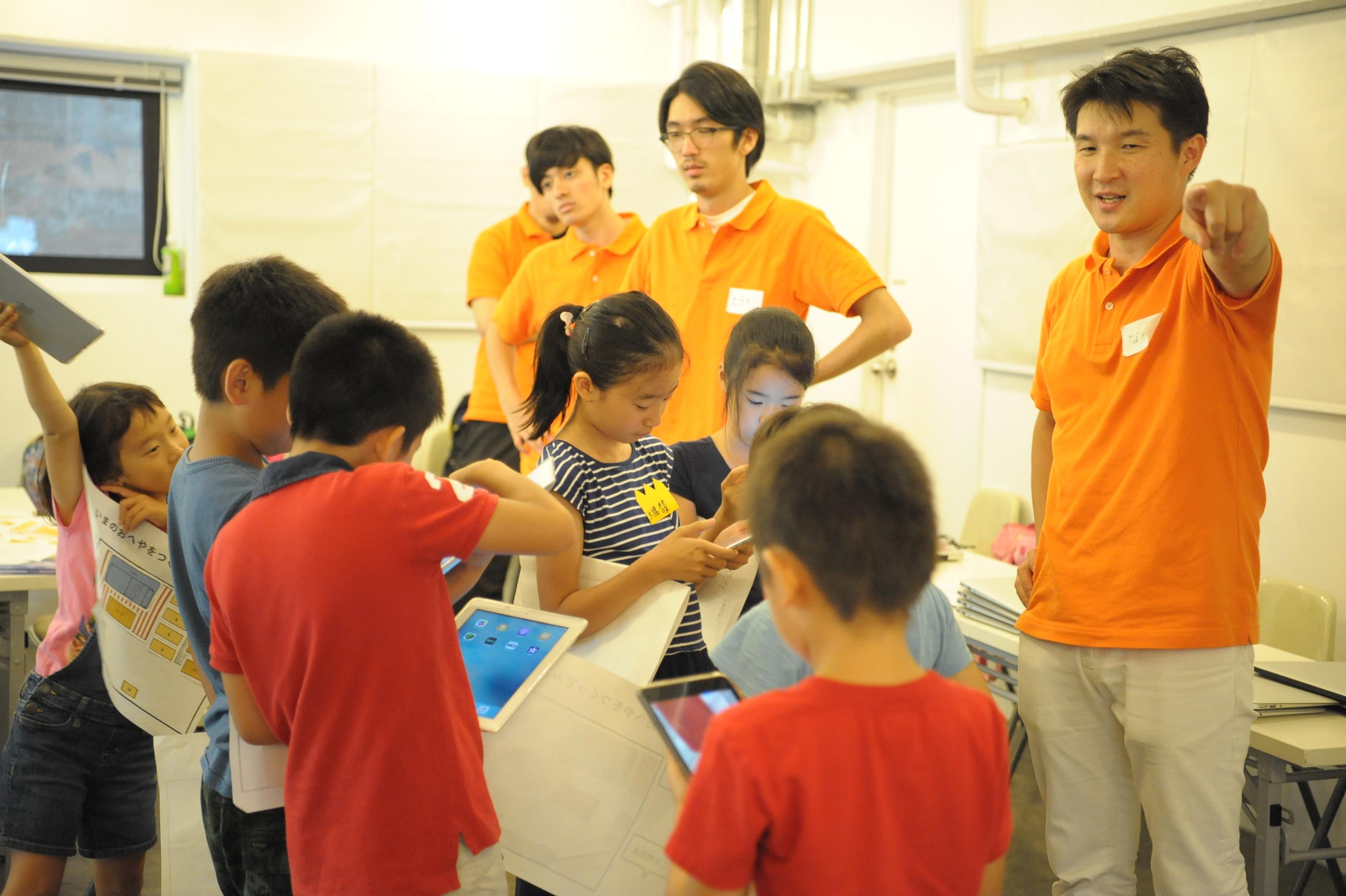 子供たちのプログラミング
