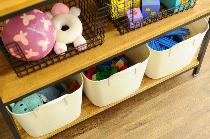 おもちゃの収納アイデア