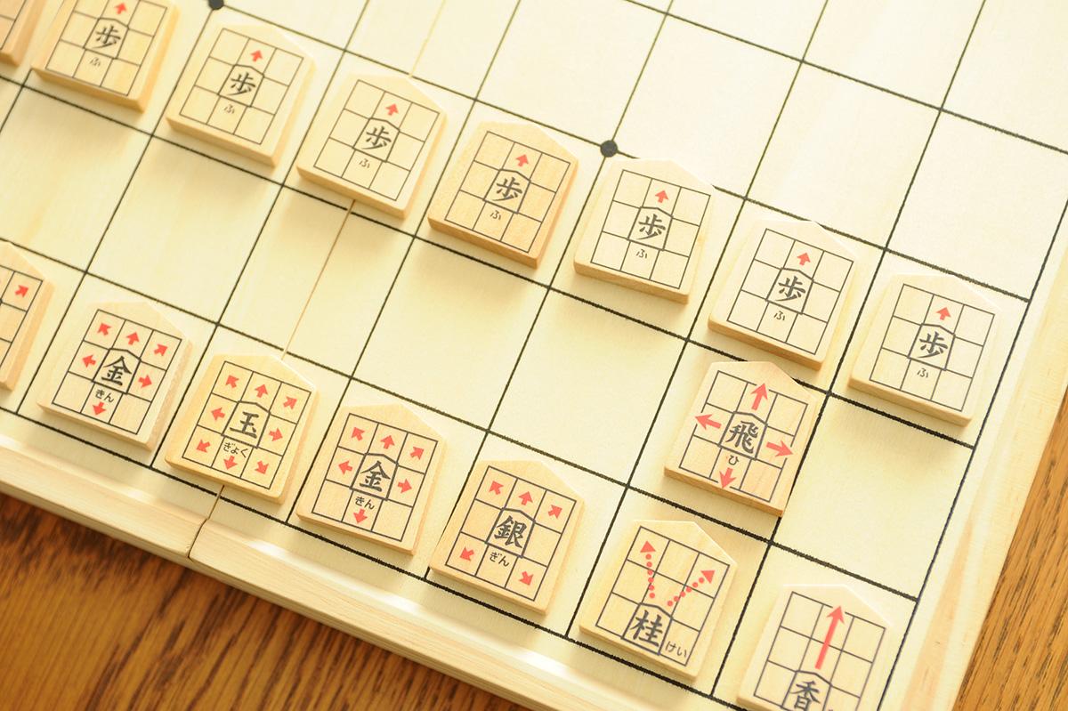 将棋とこどもの遊び