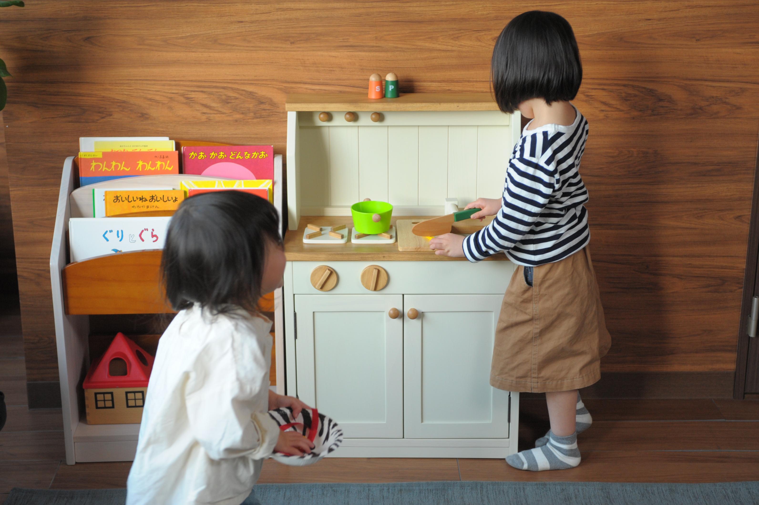 木製ミニキッチン