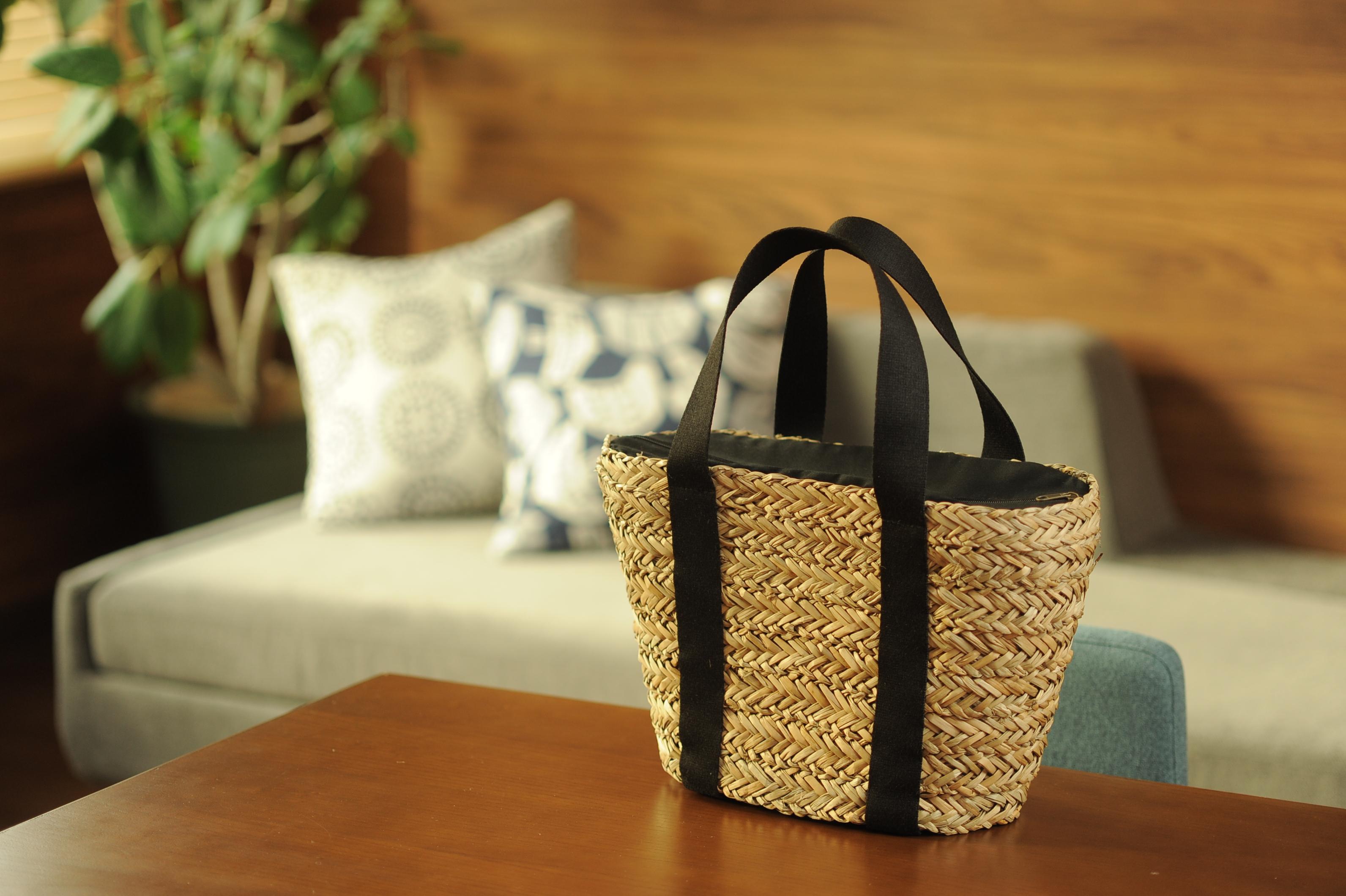 天然素材の保冷バッグ