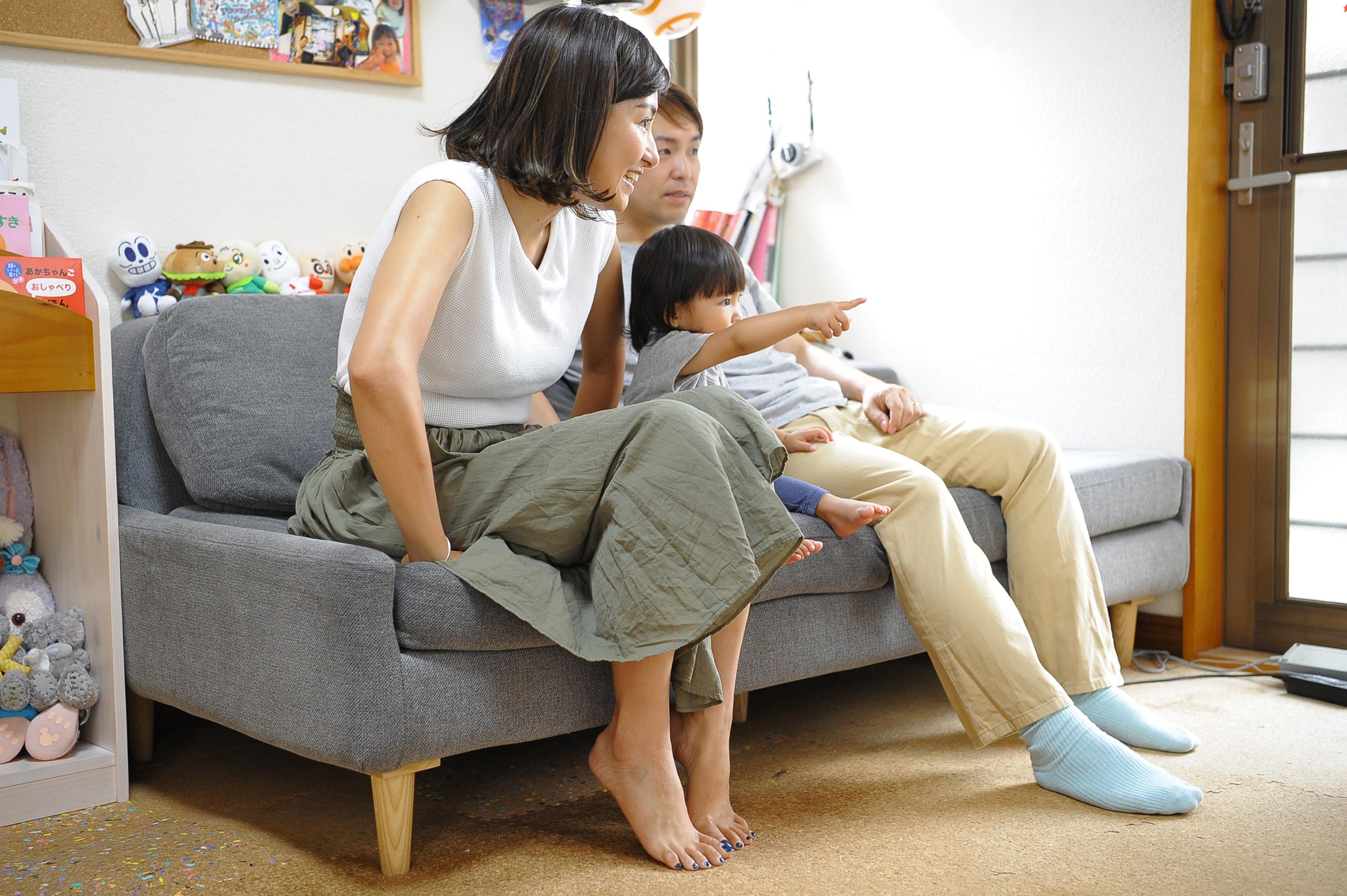 分け合う家族の時間