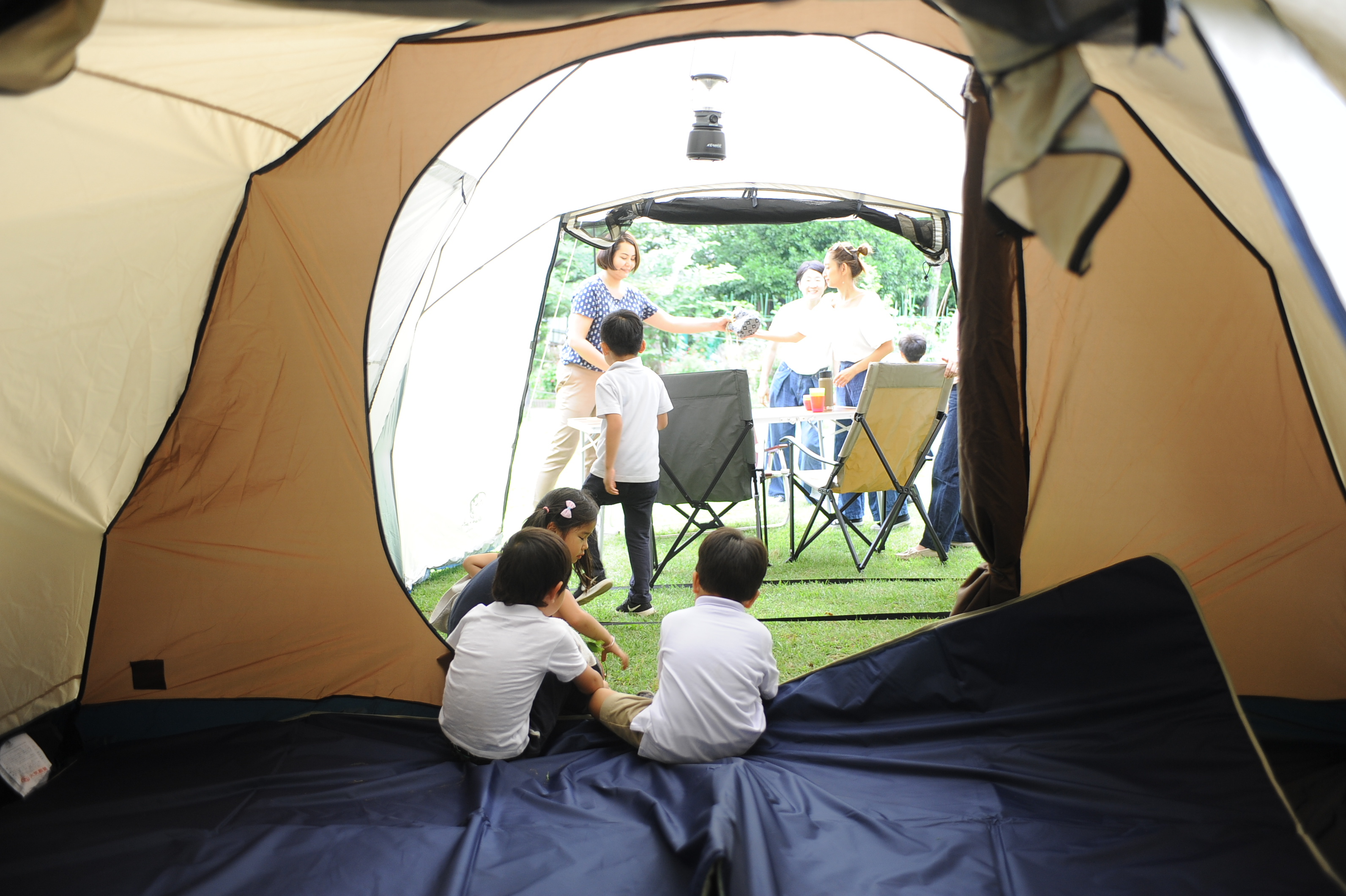 Whole Earth(ホールアース)ではじめる家族キャンプ