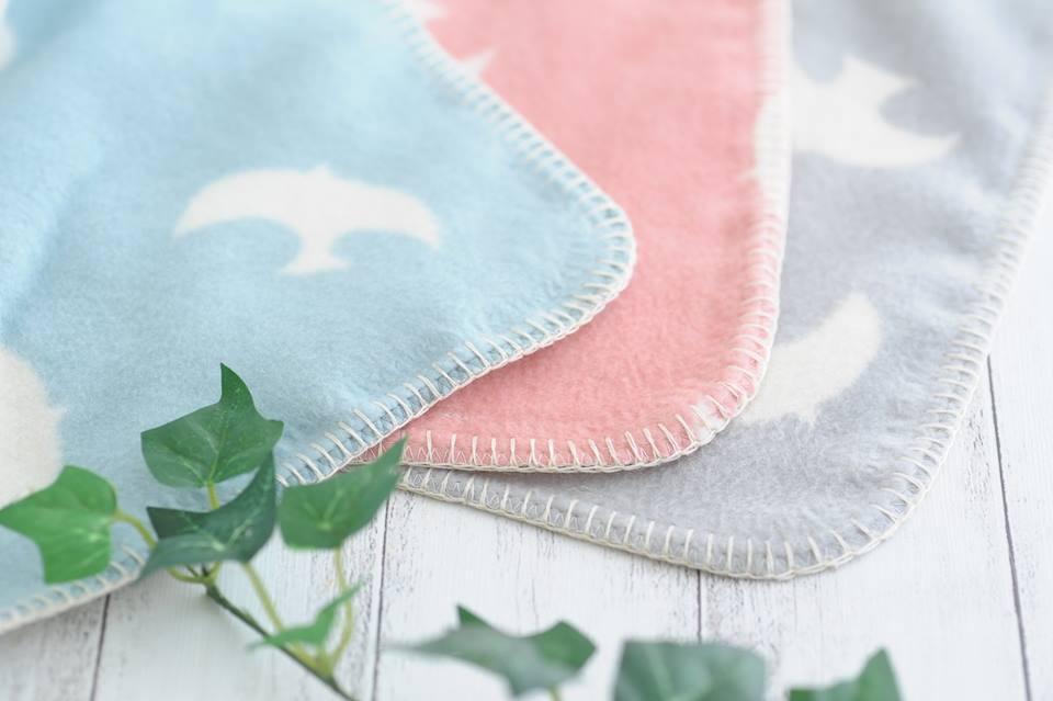保育園で使いやすい綿毛布