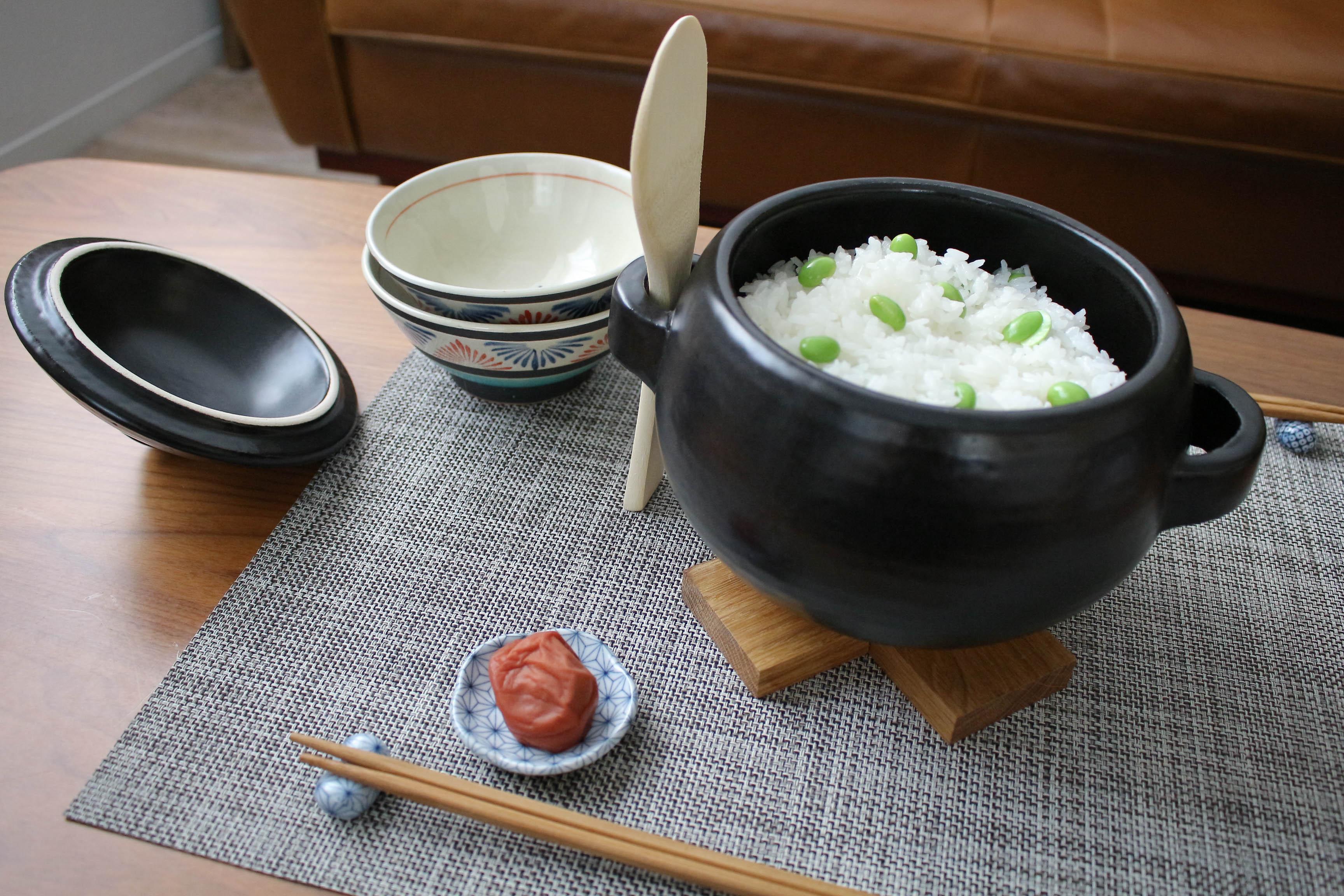 かわいいご飯鍋