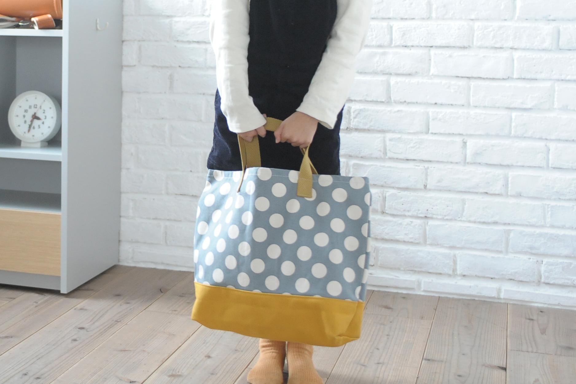 通園通学が楽しくなる手提げバッグ