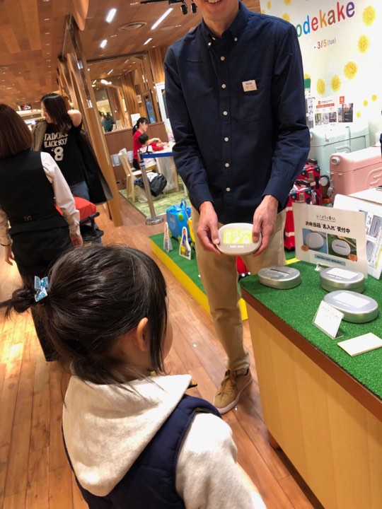 伊勢丹新宿店でこどもと暮らしのスタッフが店頭販売もさせていただきました!