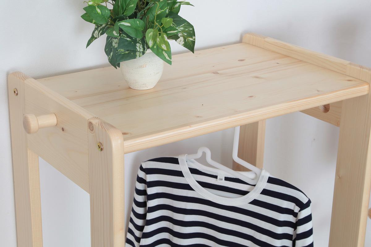 天然木の子供家具
