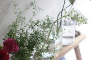 植育、花育を楽しむ花瓶のある暮らし