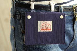 どんなお洋服にもあうシンプルなデザインの「移動ポケット」