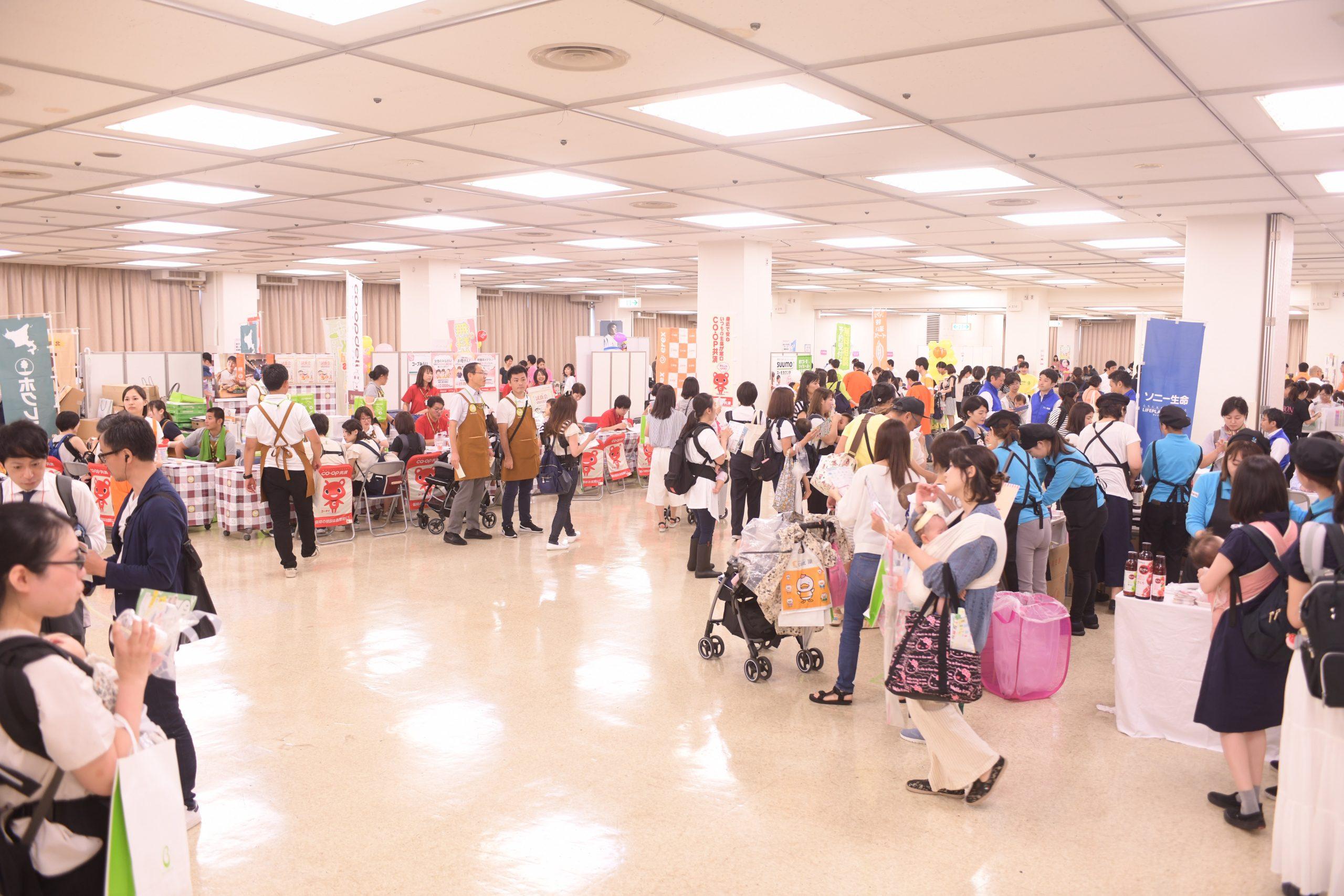 リトル・ママフェスタは 日本各地で毎回すごい賑わいを見せている 国内最大級のファミリーイベント