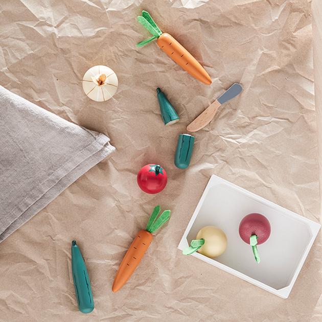 KID'S CONCEPT キッズコンセプト Mixed vegetable box 野菜ボックス