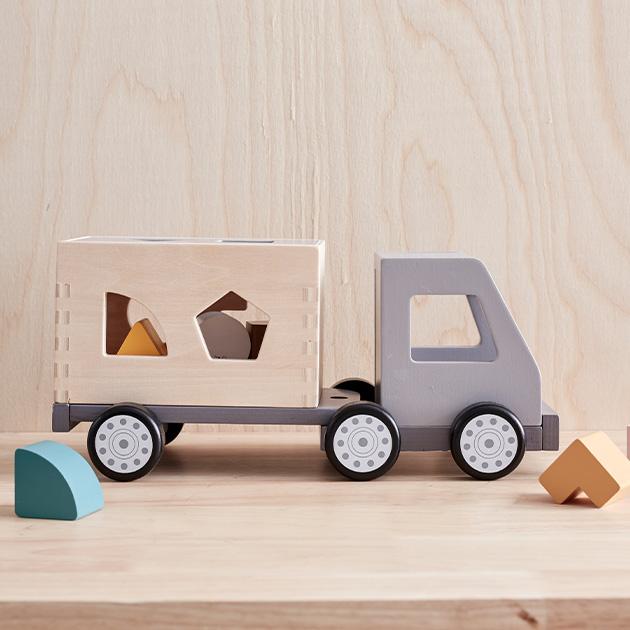 KID'S CONCEPT キッズコンセプト Sorter truck AIDEN トラック