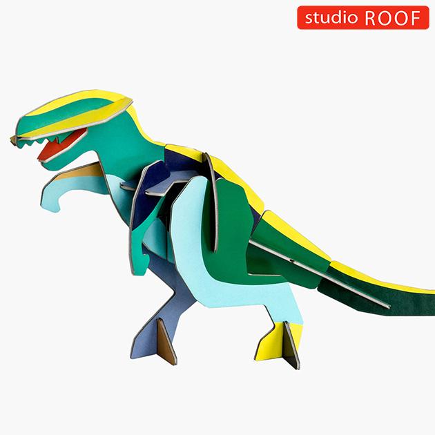 studio ROOF スタジオルーフ ペーパークラフト 架空の生き物 大きいサイズ