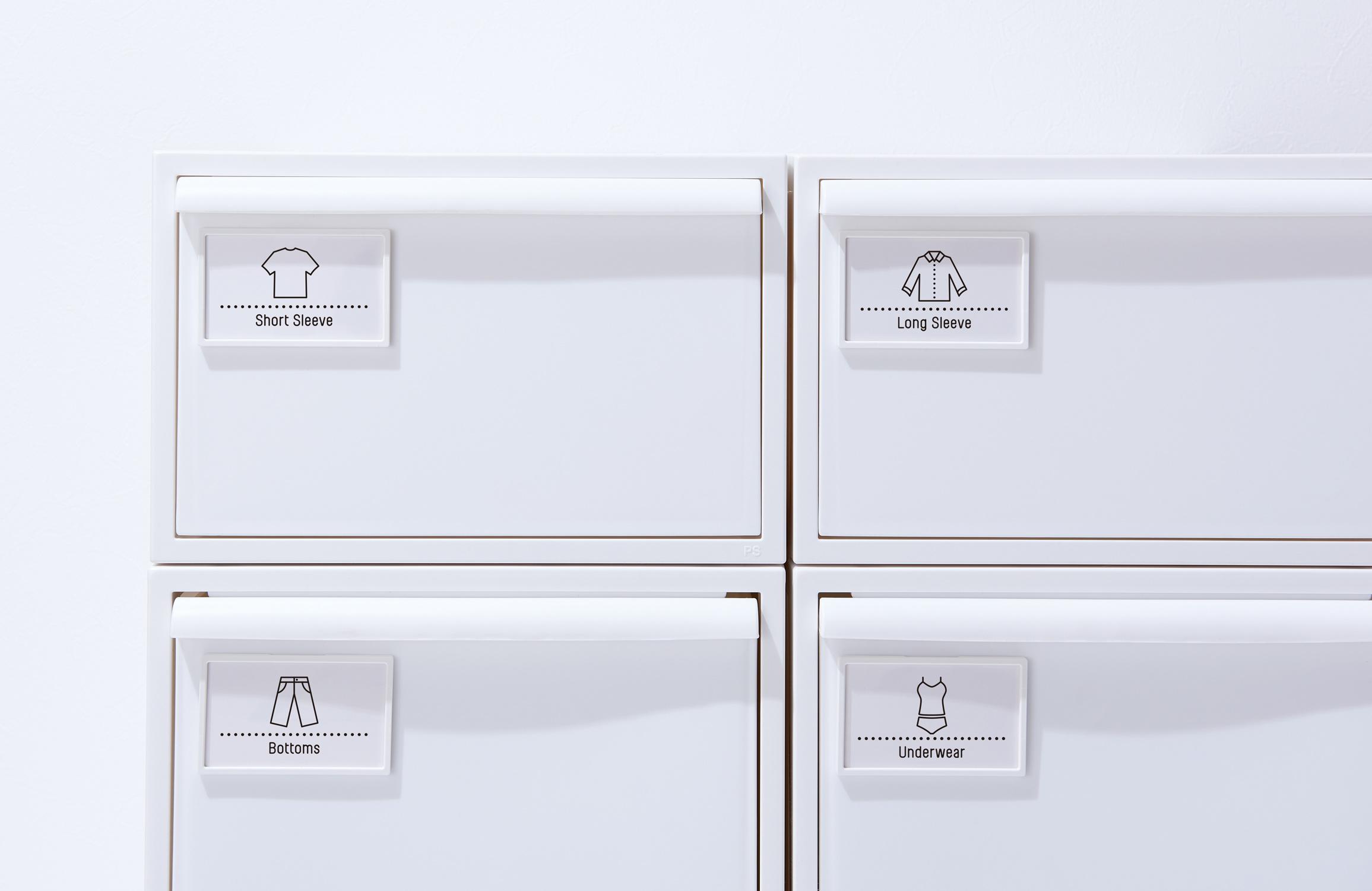 お部屋やクローゼットなどでの使いやすさを考えた収納ケース、クローゼット・システム「like-it(ライクイット)」