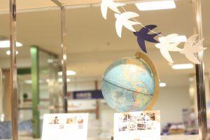 伊勢丹浦和店で展示販売中のランドセルのイメージ つばめ