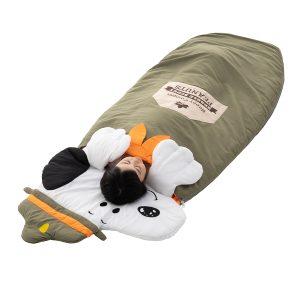 スヌーピーの寝袋