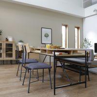 リビングに置いてもお部屋の雰囲気を壊さないテレワーク用家具